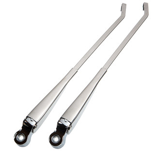 Type2 bay, wiper arms stainless steel, pair, OEM partnr. 211955409 A
