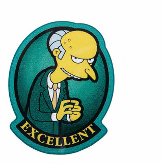 Sticker Mr. Burns Excellent