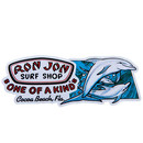 Sticker Aufkleber Ron Jon Surf Shop Cocoa Beach Florida