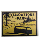 Sticker T2 Yellowstone Park Wyoming, Montana & Idaho