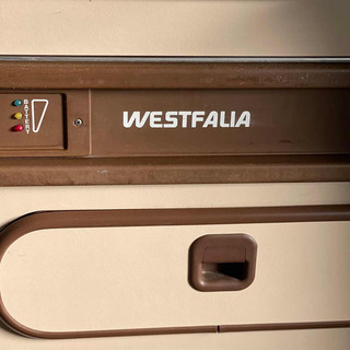 Sticker keukenblok T3 Westfalia wit