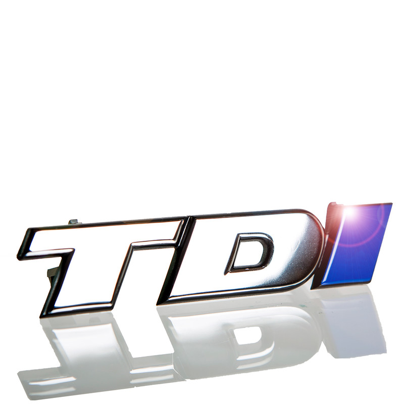 TDi Grille Badge with Blue I 701853679A