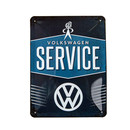 Metal sign Volkswagen Service  (small)