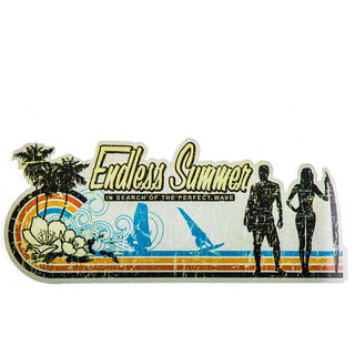 Sticker Endless Summer - in search of the perfect wave