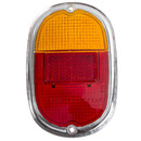 Type2 early bay Rear Lamp Lens With Chrome Trim OEM-Nr....